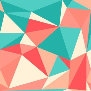 Geometric Triangle in Coral