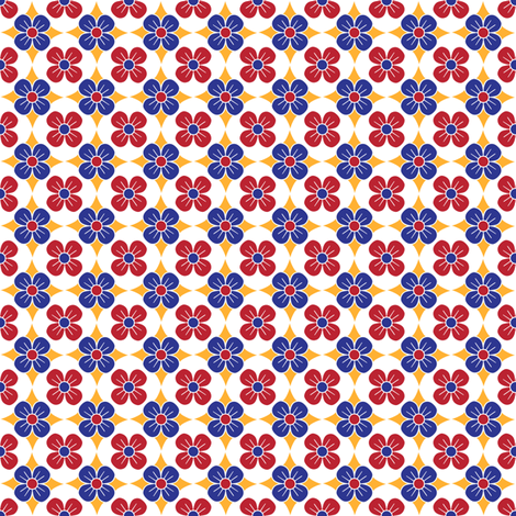 Matriochka Coordinate (Pattern 1) fabric by vannina on Spoonflower - custom fabric