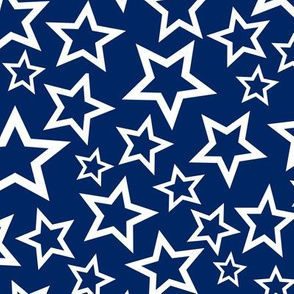 Old Glory Blue Stars