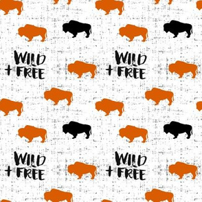 Wild + Free Buffalo (small scale)