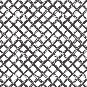 Black & White Trellis