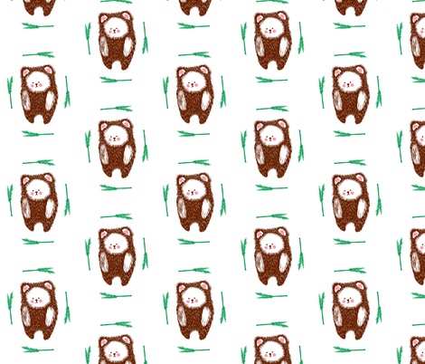 Bear fabric by shannon_buck on Spoonflower - custom fabric