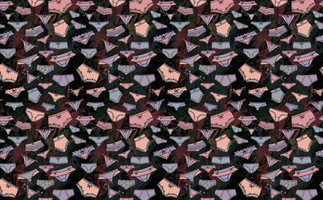 Undies Eight fabric by tessnorquay on Spoonflower - custom fabric