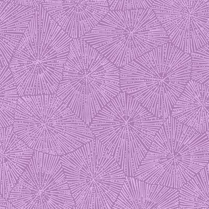 extra-large petoskey in lilac and purple