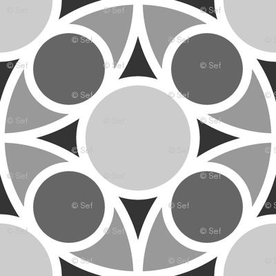 05485209 : R4 circle mix : grey