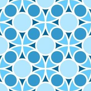 05485217 : R4 circle mix : sky blue