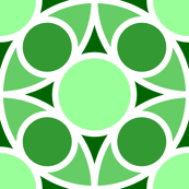R4X circle mix : emerald green