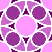 R4X circle mix : magenta purple