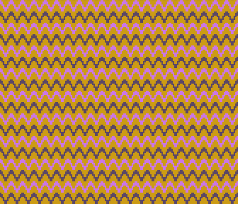 staccato - gold & violet fabric by dandelion_design on Spoonflower - custom fabric