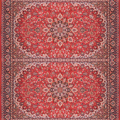 oriental persian rug mat fabric by vinkeli on Spoonflower - custom fabric