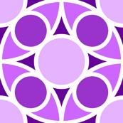 R4X circle mix : violet magenta purple