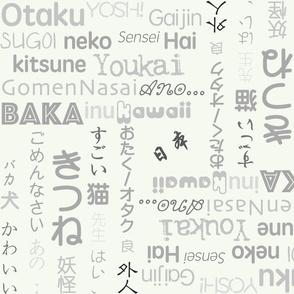 "Otaku Speek ""Grey Scale"""