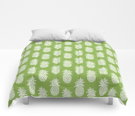 Greenery Pineapples