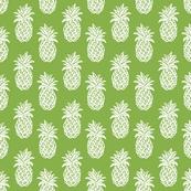 Greenery Pineapples