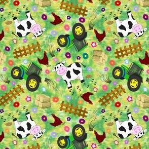 Small Farmyard Cow