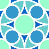 R4X circle mix : arctic blue