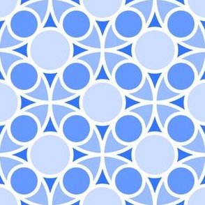 05486962 : R4 circle mix : sapphire blue