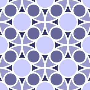 05486963 : R4 circle mix : lavender indigo blue