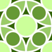 R4X circle mix : limestone green
