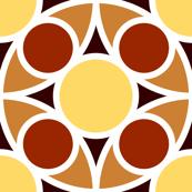 R4X circle mix : terracotta