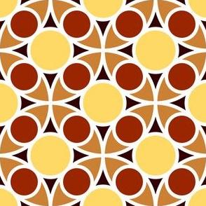 05486968 : R4 circle mix : terracotta