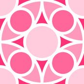 R4X circle mix : rose pink