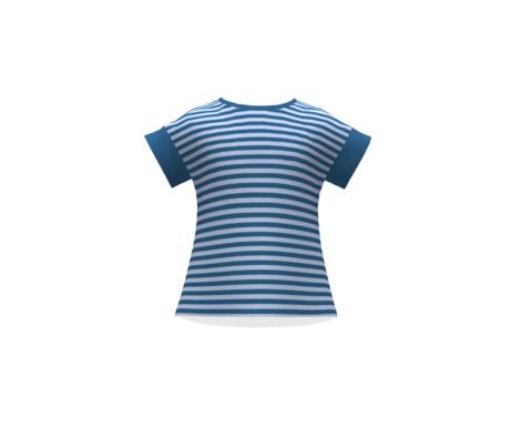 Blue summer stripes