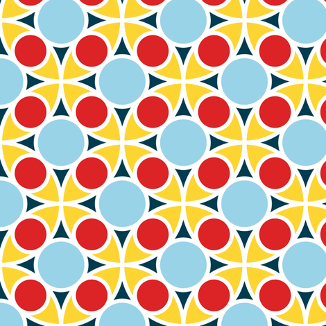 05487363 : R4 circle mix : sailing round in circles fabric by sef on Spoonflower - custom fabric