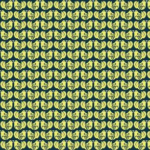 Danish  Doves yellow