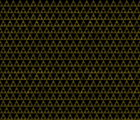 Grunge Triangles fabric by geekygamergirl on Spoonflower - custom fabric