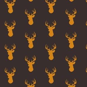 Deer - Brown/Gold