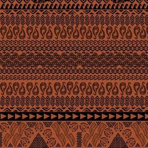 Polynesian Tribal Ocean Print