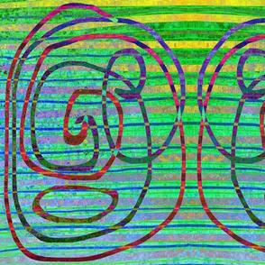 Stripe & Swirl