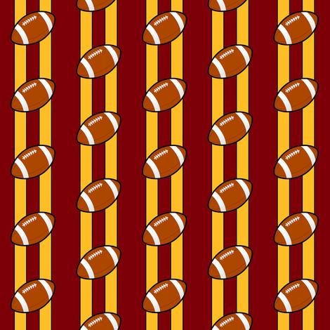 washington redskins fabric by stofftoy on Spoonflower - custom fabric