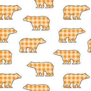 Yellow Gingham Bears // Sylvan Shoppe Collection