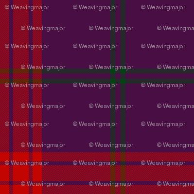 Lynch tartan, purple variant