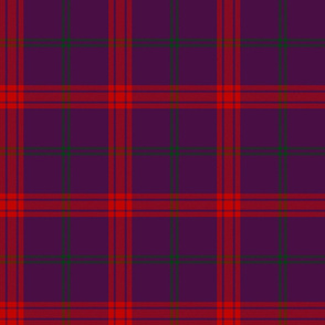 Lynch tartan, purple variant
