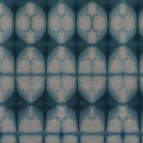 Shibori oval