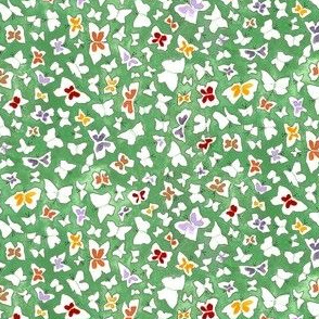 Butterflies-Green