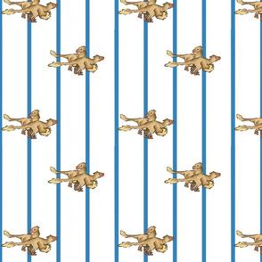 raptor blue stripe