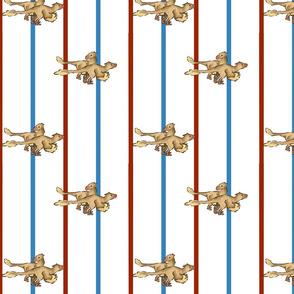 raptor red and blue stripe