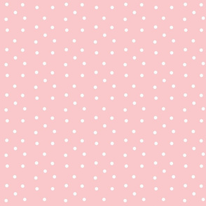 Polka Dots- pink/white-PD collection