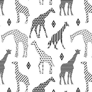 Patterned Giraffes // Small