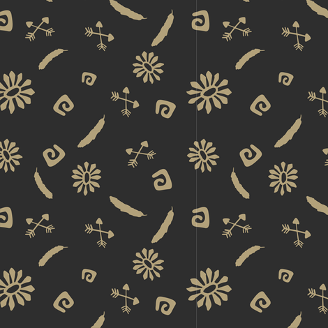 ethno 1 fabric by stofftoy on Spoonflower - custom fabric