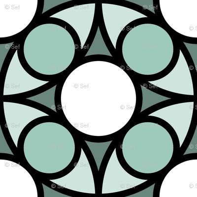 05492528 : R4 circle mix : icy cold bird bath