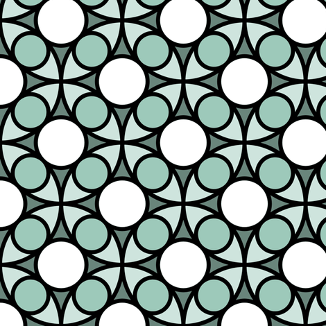 05492528 : R4 circle mix : icy cold bird bath fabric by sef on Spoonflower - custom fabric