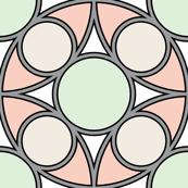 R4X circle mix : wedding rings