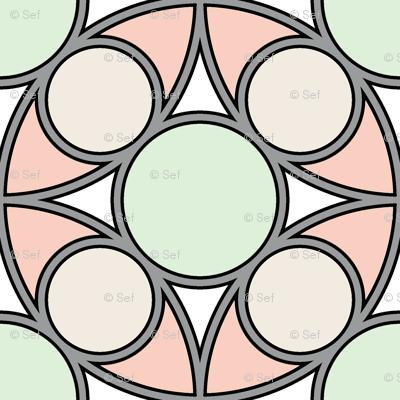 05492534 : R4 circle mix : wedding rings