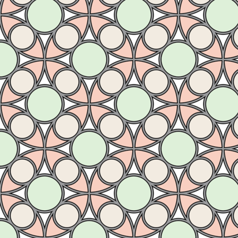 05492534 : R4 circle mix : wedding rings fabric by sef on Spoonflower - custom fabric
