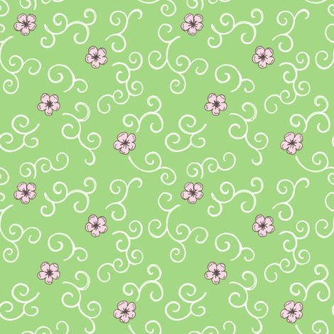Rjapanese_garden_cherry_blossom_and_swirls_green_150_hazel_fisher_creations_shop_preview